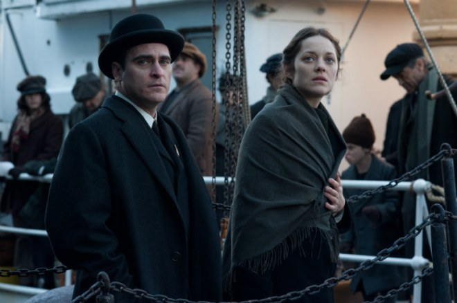 Cotillard and Joaquin Phoenix in 'The Immigrant'