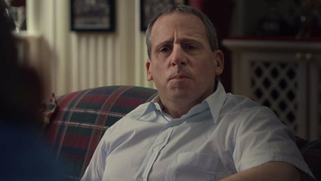 Carell looking creepy in 'Foxcatcher'