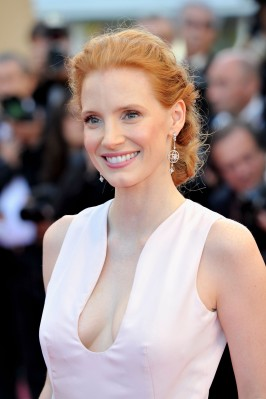 Chastain at Cannes