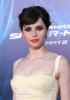 Jones at the Spidey premiere.