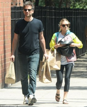 Bennett Miller after a trip to Whole Foods with his niece, I mean girlfriend, Ashley Olsen