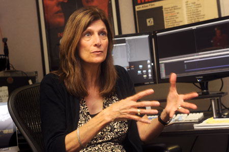'Boyhood' editor Sandra Adair