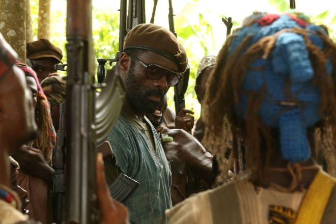 James Bond Idris Elba in 'Beasts of No Nation'