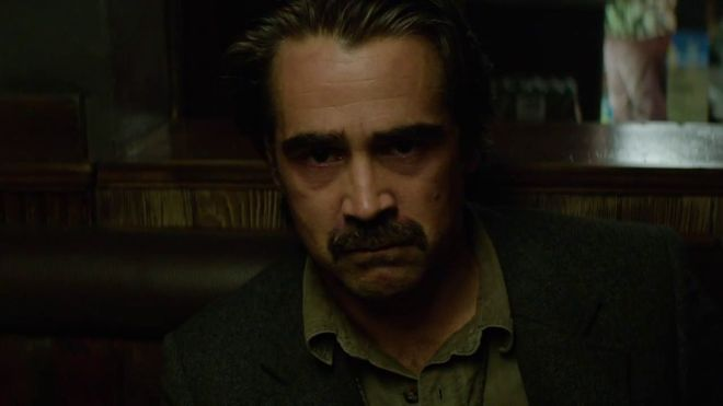 And the Emmy for best supporting actor in a drama series goes to Colin Farrell's mustache!
