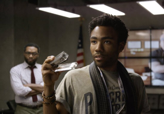 Donald Glover explaining his plan in 'The Martian'
