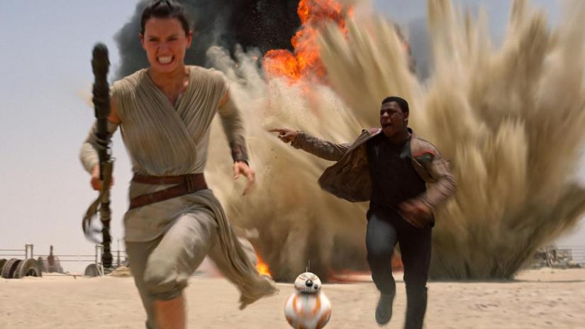 Review: With 'Star Wars: The Force Awakens', Daisy Ridley becomes the star we're looking for.