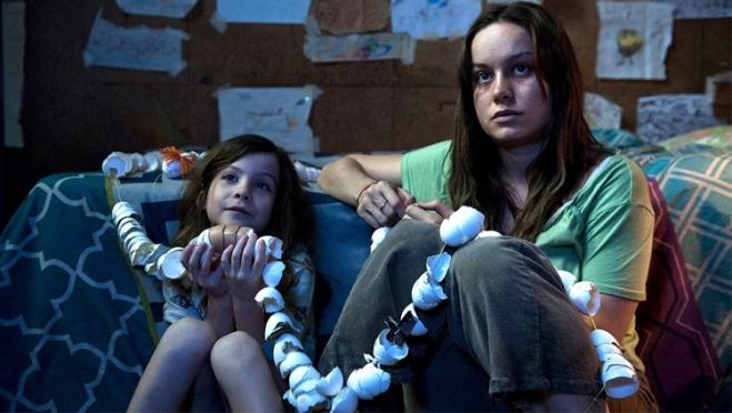 Jacob Tremblay & Brie Larson in 'Room'