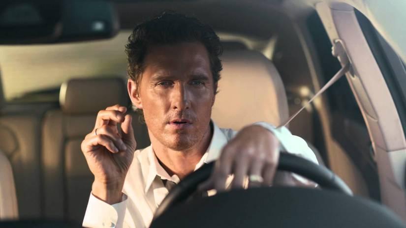 Matthew McConaughey is trying toohard.
