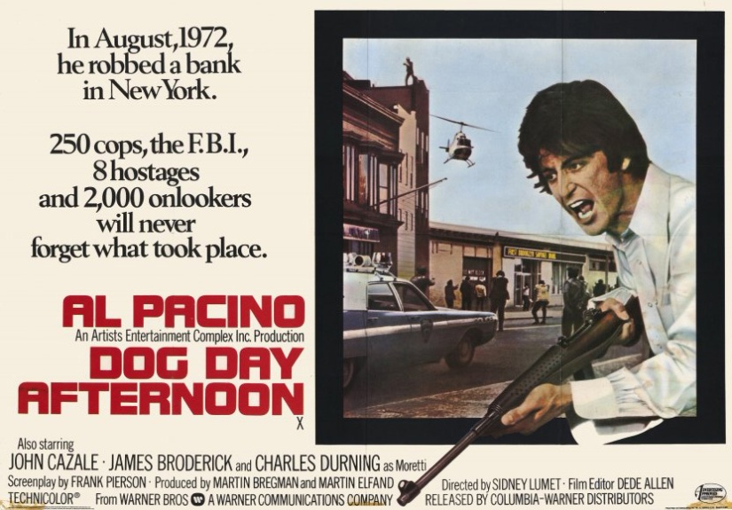 Daily Film Thoughts (5/18/17): 'Dog Day Afternoon' and the Anti-Establishment ideals of 70's Hollywood